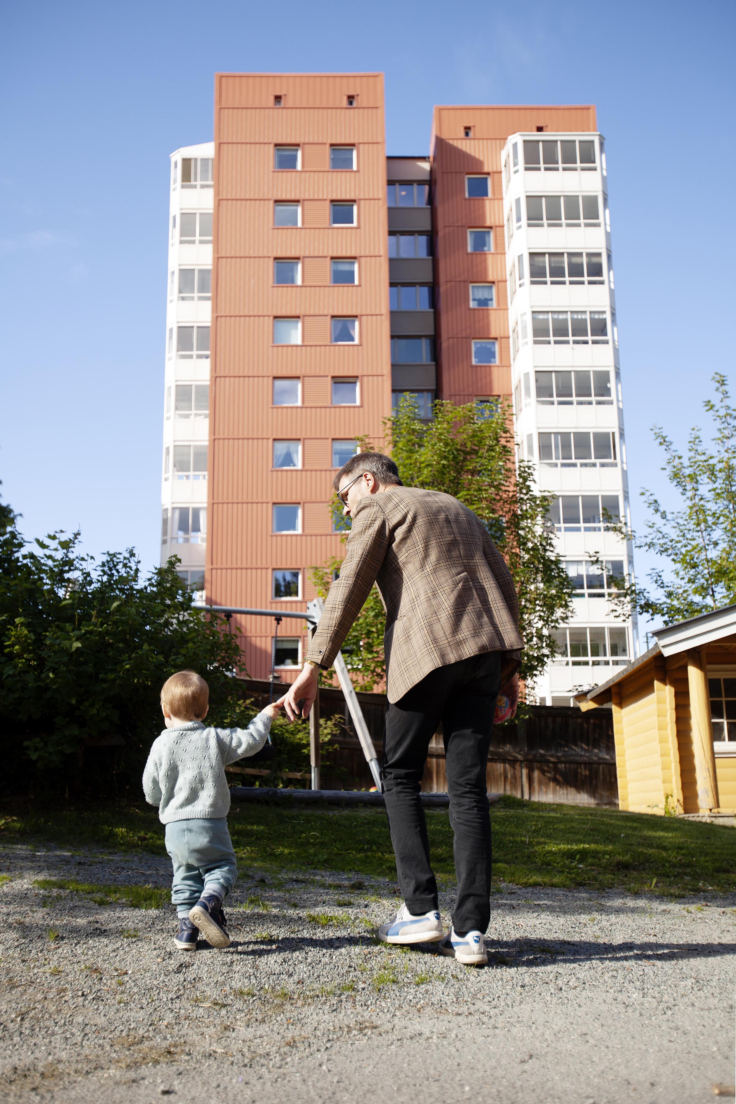 Runaug, Sigurd og Bynesvegen 4a. Foto: Nils Kristian Thompson Eikeland